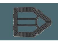 Accessories - Upholstery insert - Triangular brush (D4221)
