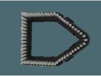 Accessories - Nylon insert - Triangular brush G4004